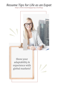 Expat Resume Tips