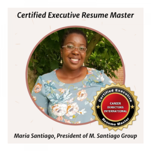 Certified Executive Resume Master Award