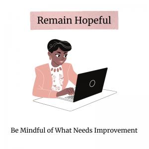 remain hopeful in a career shift