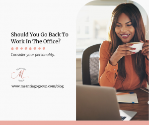 Consider Your Personality Work From Home